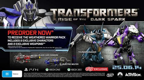 Transformers: Rise of the Dark Spark release date set, pre