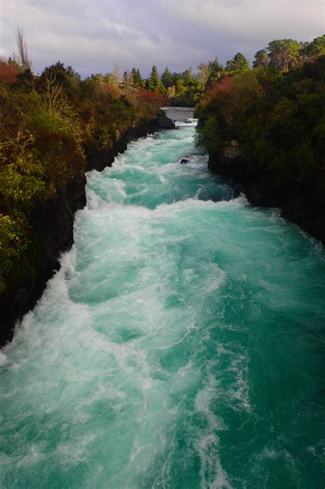 Craters of the Moon and Huka Falls near Taupo, New Zealand