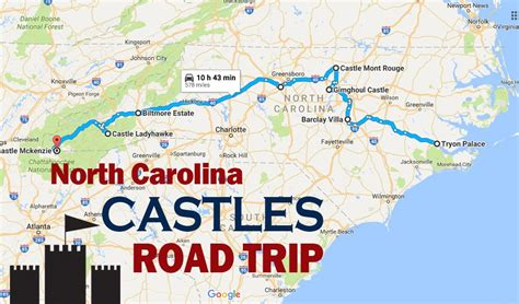 Take a Road Trip To All 8 Of North Carolina's Castles In