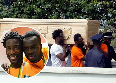 Footballer Cheick Tiote's Body Arrives In Ivory Coast For