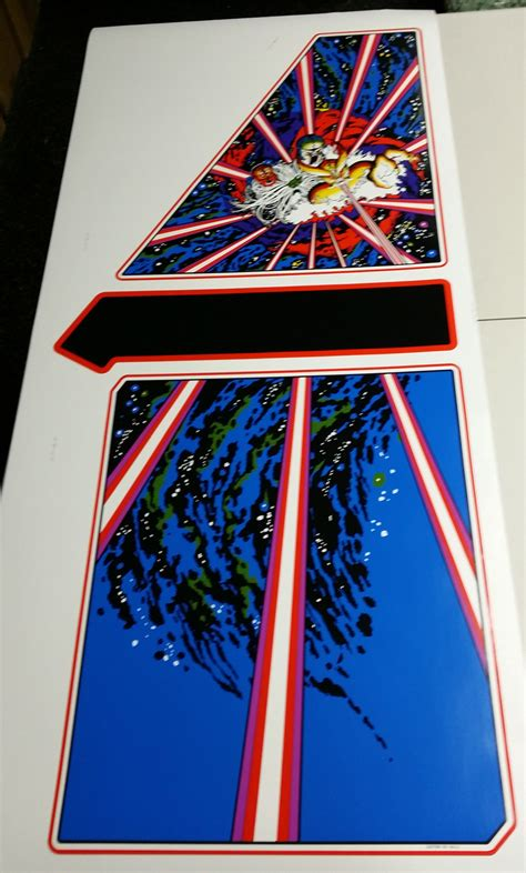 Tempest Upright Side Art | Phoenix Arcade | #1 Source for