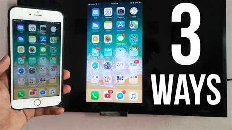 3 Ways to Screen Mirror iPhone to Any TV (No Apple TV