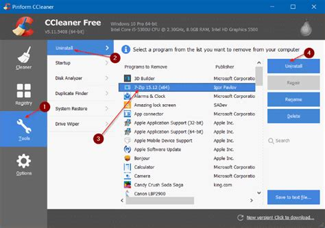 How To Uninstall A Program In Windows 10