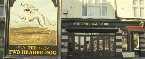 the two headed dog in letchworth garden city : the world's