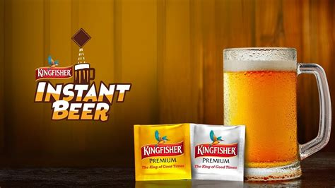 Introducing Kingfisher Instant Beer | Best Beer Anytime