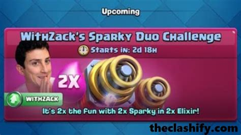 Top 13 Clash Royale WithZack Sparky Duo Challenge Deck