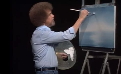 Bob Ross Was a Tyrant and Hated His Perm   artnet News