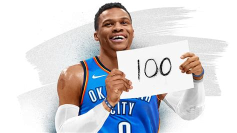 The best moments along Russell Westbrook's journey to 100