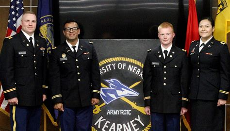 ROTC cadets leave UNK as leaders, Army officers