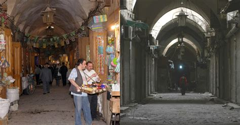 Old city of Aleppo, before - Aleppo: Before and after