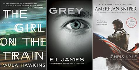 The Bestselling Books of 2015 (So Far)