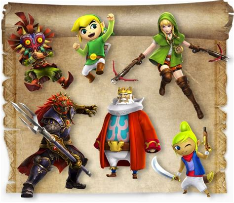 Hyrule Warriors: Legends season pass dated and detailed