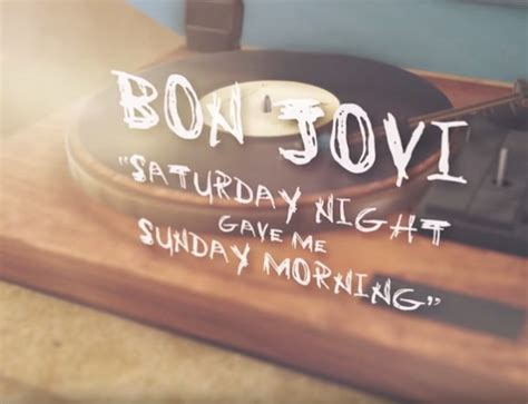 Commercial Song 2019: Bon Jovi - Saturday Night Gave Me
