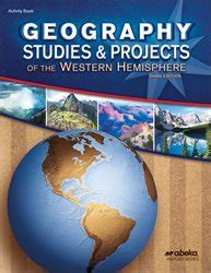 Abeka   Product Information   Geography Studies and