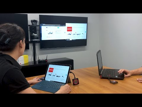 Wireless HDMI Share with Barco ClickShare : Quicklaunch