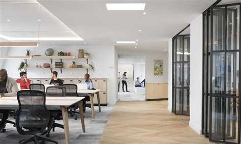 Airbnb's brand new Paris office is a loft-like space that