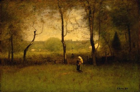 File:George Inness - Wood Gatherers, An Autumn Afternoon
