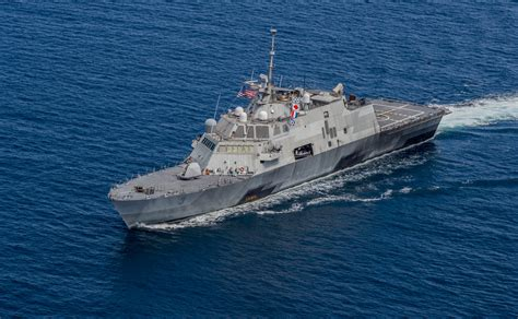 Littoral Combat Ship USS Fort Worth Sidelined in Singapore
