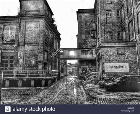 Leipzig Galleries in old industrial area Stock Photo - Alamy