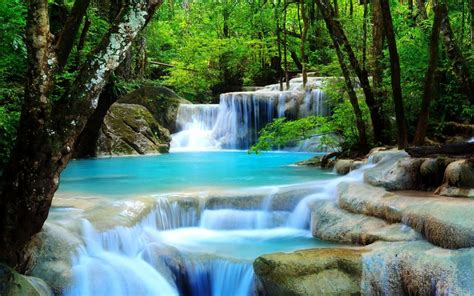 Wallpaper Scenery Waterfall (53+ images)