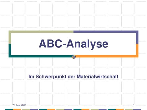 Abc Analyse Beispiel | character refence