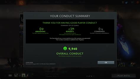 How to check your Dota 2 behavior score in-game | Dot Esports