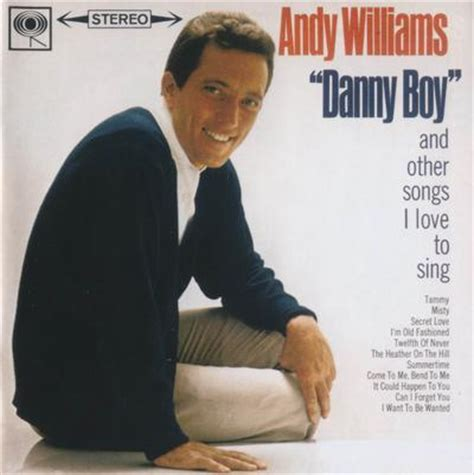 Andy Williams – Danny Boy and other Songs '62 › funkygog Blog