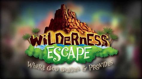 VBS 2014 - Wilderness Escape vacation Bible school at a