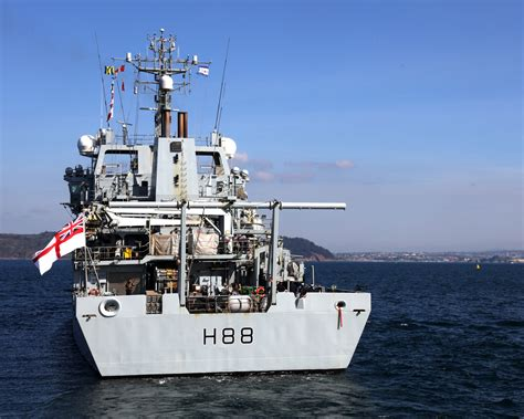 HMS Enterprise home after three years away | Royal Navy