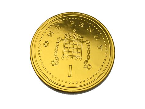 Buy a giant milk chocolate £1 coin online from Keep It Sweet