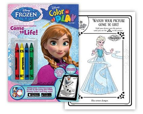 Disney Color & Play Books by Bendon