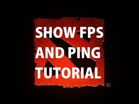 Show fps and ping dota 2 reborn - YouTube