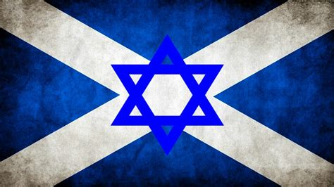Scottish Judaism Flag | The earliest date at which Jews