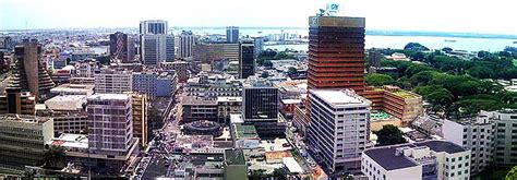Google Map of the City of Abidjan, Côte d'Ivoire - Nations