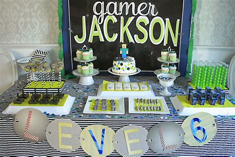 Video Game Birthday Party - Darling Darleen | A Lifestyle