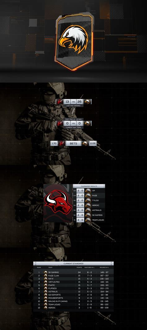 VIDEOHIVE CYBERSPORT CSGO PACKAGE - Free After Effects