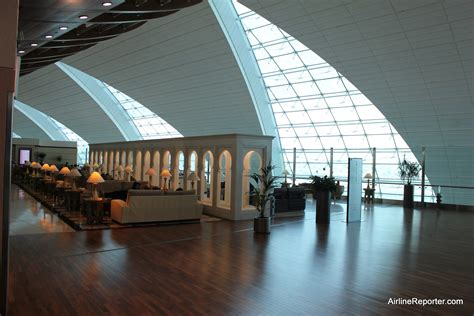We Aren't In Kansas Anymore: Emirates First Class Lounge